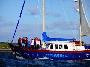 Cetacean Monitoring aboard the Celtic Mist